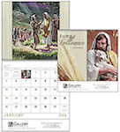 Faithful Followers Spiral Wall Calendars